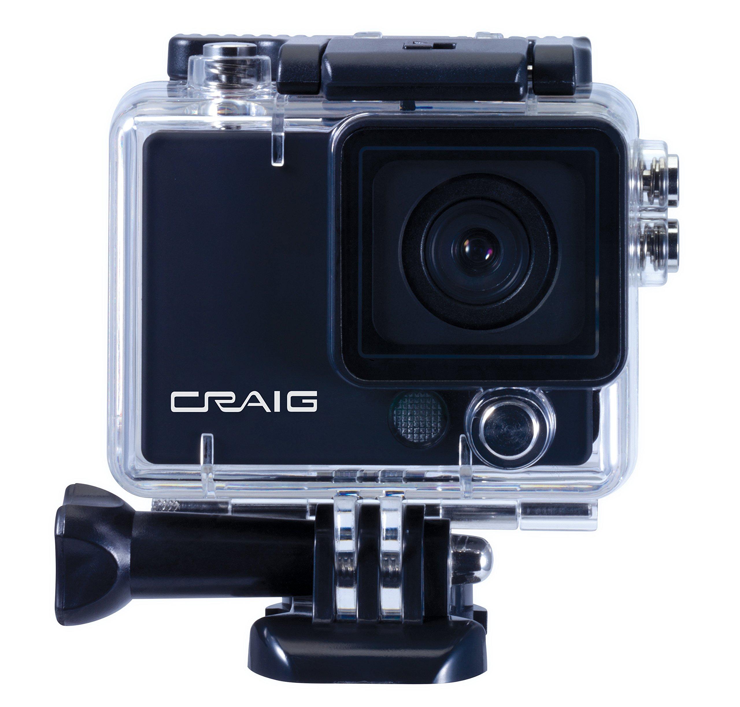 Craig Electronics CCR9029 HD 1080P Action Camera & Video Recorder (Black)
