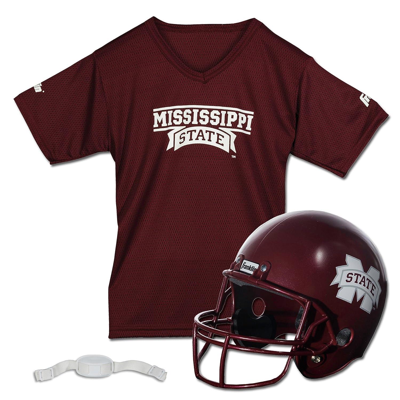 Amazon.com   Franklin Sports NCAA Team Licensed Youth Football Helmet  Jersey Set   Sports Fan Jerseys   Sports   Outdoors a248cbb31