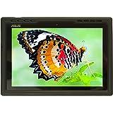 Bobj for ASUS ZenPad 10 Z300C, Z300CX, Z300CG, Z300CL, Z300CNL, P023, Z300M, P00C, P01A – BobjGear Protective Tablet Cover (Bold Black)
