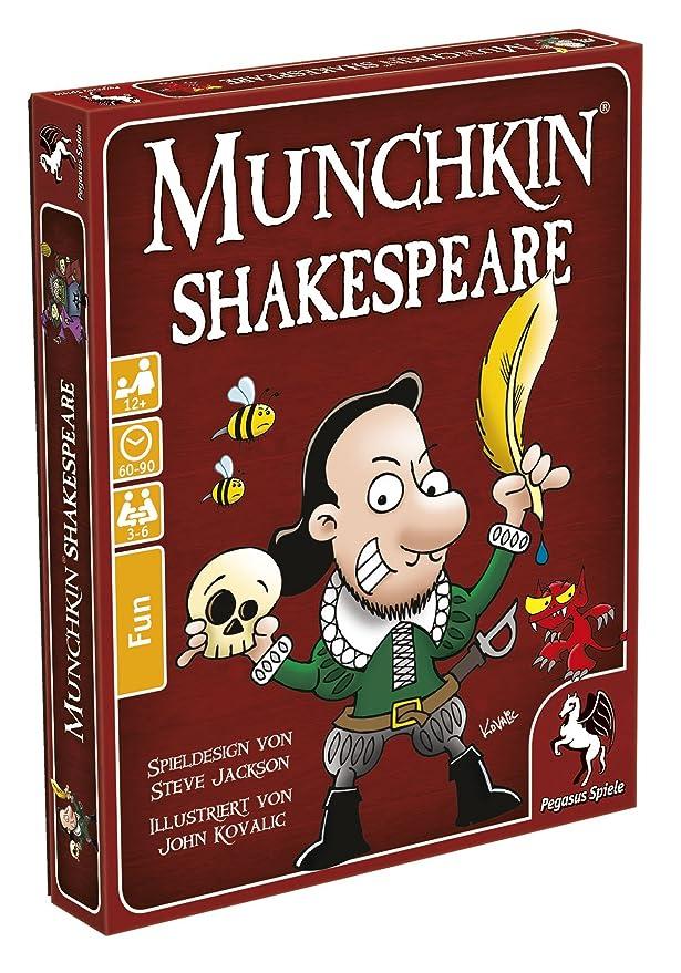 Amazon.com: Pegasus Spiele 17244G Munchkin Shakespeare: Toys ...
