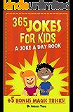 365 Jokes For Kids: A Joke A Day Book +5 Bonus Magic Tricks (English Edition)
