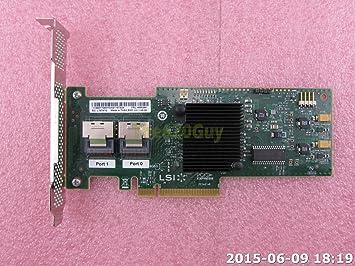 Amazon com: IBM 46M0861 LSI SAS9220-8i ServeRAID M1015 8