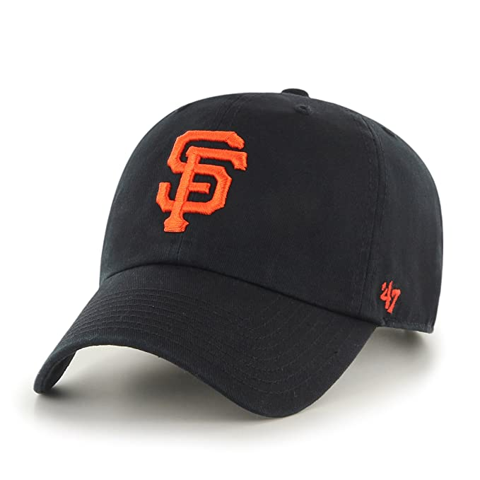 47 Brand MLB San Francisco Giants 47 Clean Up-Berretto da Baseball Unisex -  Adulto Nero Taglia Unica  Amazon.it  Abbigliamento b949d5713243