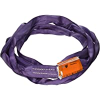 All Material Handling DR103 Endless Round Sling, 3' Length, Vertical Capacity 2600 lb, Choker-2100 lb, Basket-5200 lb, Purple