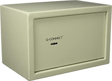 Q-Connect - Caja fuerte con llave (10 l): Amazon.es: Oficina y ...