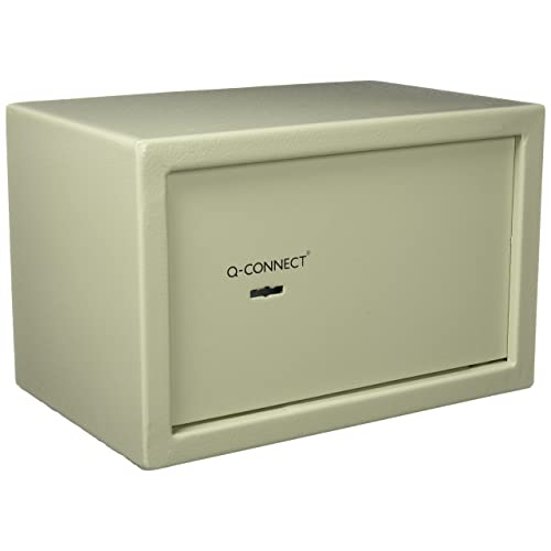 Q-Connect KF04388 Key Operated Safe 10 L, 200 x 310 x 200