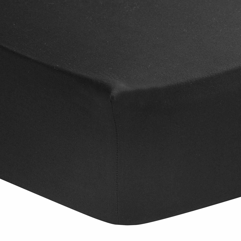 qualit/é Percale 80 Fils//cm/² Couleur Rose de 90 x 190 cm en Pur Coton dEgypte Homescapes Drap Housse de
