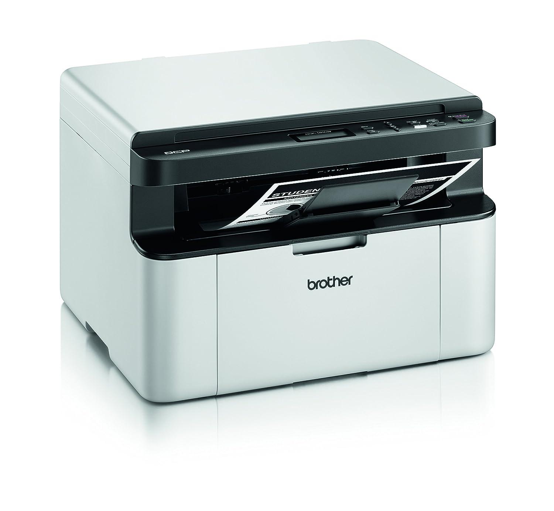 Brother DCP1610W - Impresora Multifunción Láser Monocromo, Blanco y Negro
