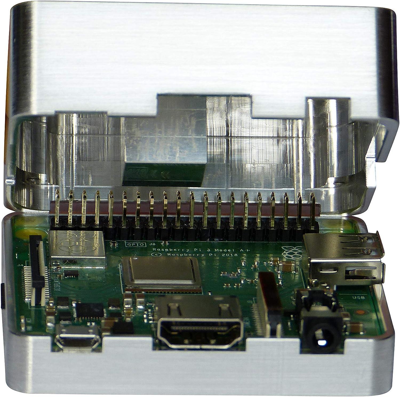 MANOUII Raspberry Pi 3 A+ - Carcasa pasiva de Aluminio: Amazon.es: Informática