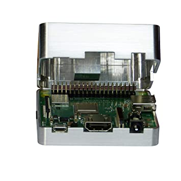 MANOUII Raspberry Pi 3 A+ - Carcasa pasiva de Aluminio ...