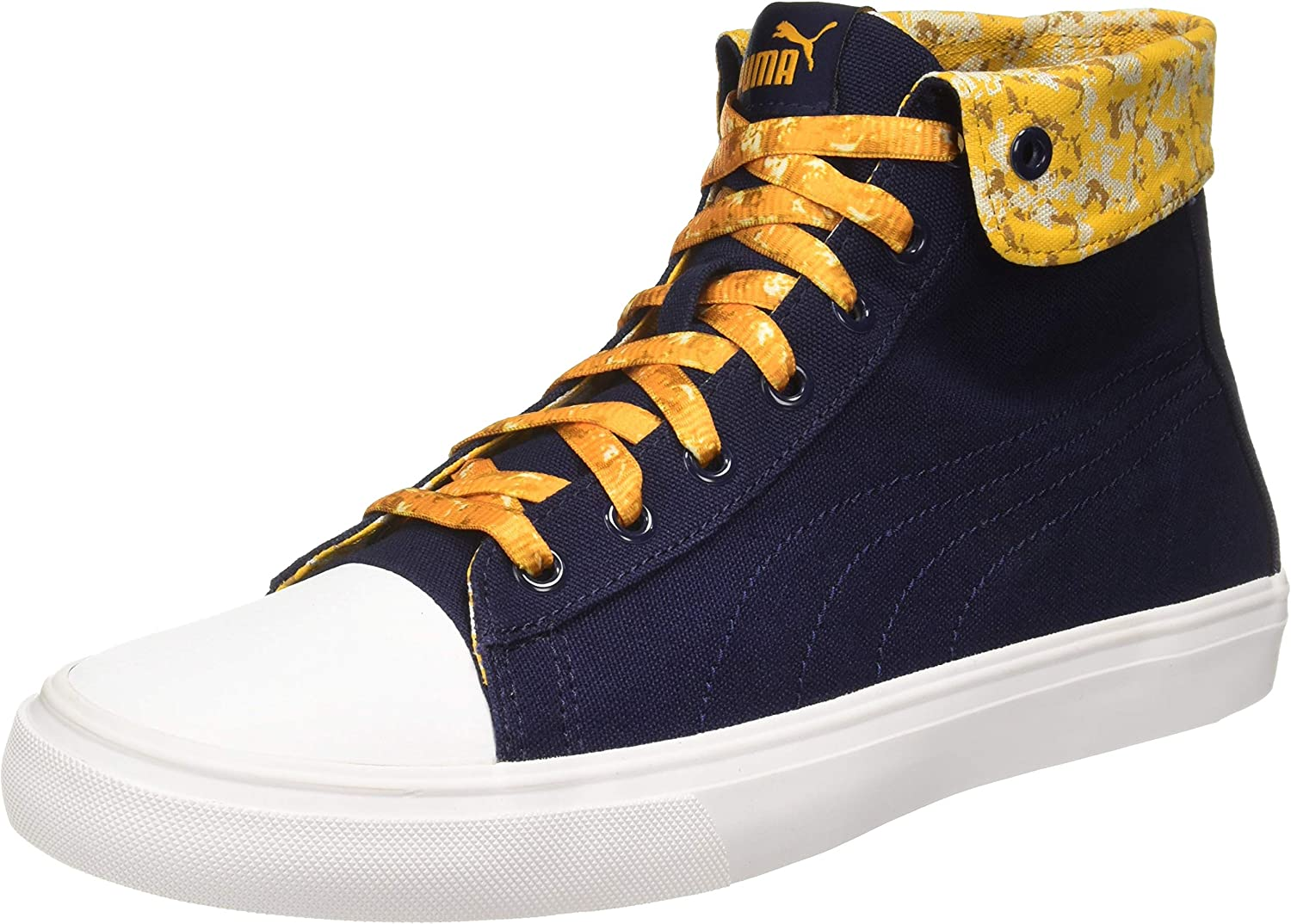 Puma Unisex Rap Mid Graphic Lace IDP Sunflower