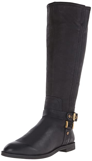 Franco Sarto Women's Vantage Western Boot, Black, ...