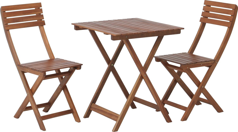 木製ガーデンテーブル&チェア