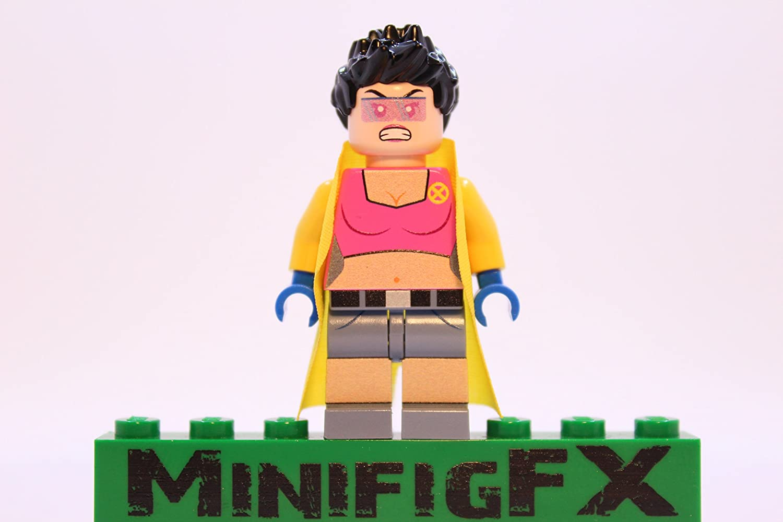 LEGO Custom Printed Jubilee Minifig Marvel X-Men Mutant Jubilation Lee
