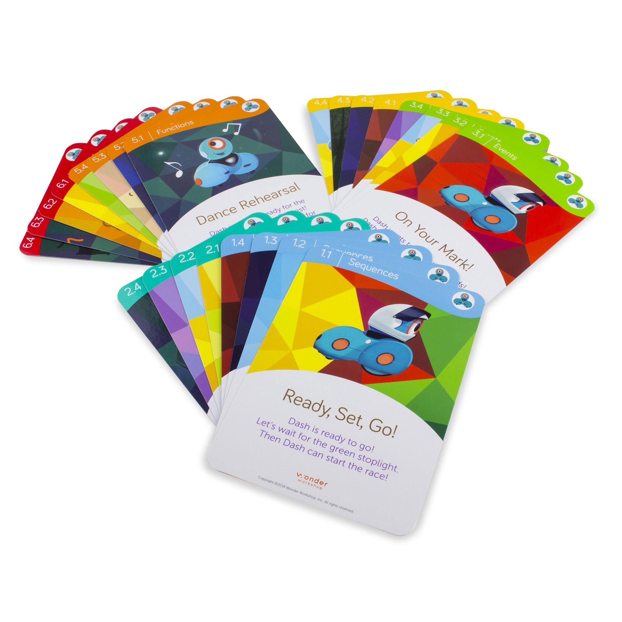 Wonder Workshop – Dash Robot Coding for Kids 6+ – Dash Challenge Cards and Sketch Kit Bundle – (Amazon Exclusive) by Wonder Workshop (Image #4)