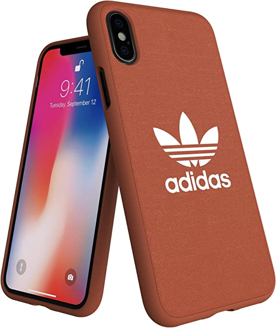Adidas Originals Adicolor - Carcasa para iPhone XS/X, Color Naranja: Amazon.es: Electrónica