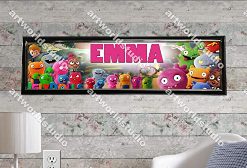 """Movie Toy Story Poster 30/"""" x 8.5/"""" Personalized Custom Name Painting Printing"""