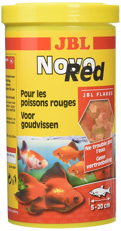JBL Novo Red Nourriture pour Aquariophilie 1 L - Lot de 2 3022080