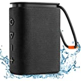 IPX7 Waterproof Bluetooth Speaker, Hadisala H2 Portable Wireless Speaker Bluetooth 5.0 with Rich Bass HD Stereo Sound…