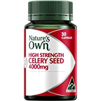 Nature's Own High Strength Celery Seed 4000mg - 30 Capsules