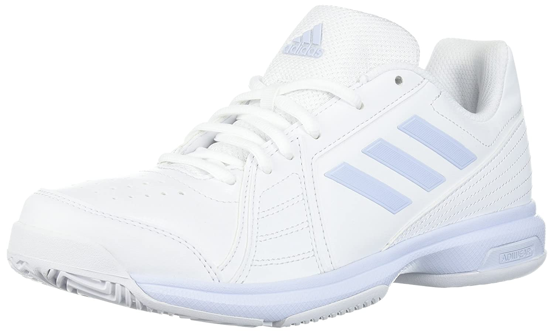 adidas Women's Aspire Tennis Shoe B072FH1QWD 7 B(M) US|White/Aero Blue/White