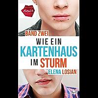 Wie ein Kartenhaus im Sturm: Band 2 (German Edition)