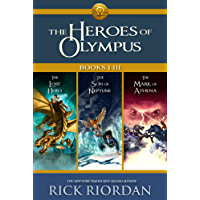 Heroes of Olympus: Books I-III: Collecting, The Lost Hero, The Son of Neptune, and The Mark of Athena (Heroes of Olympus, The)