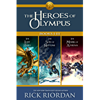 Heroes of Olympus: Books I-III: Collecting, The Lost Hero, The Son of Neptune, and The Mark of Athena (Heroes of Olympus…
