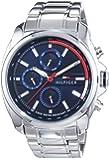 Tommy Hilfiger Watches Herren-Armbanduhr XL PRESTON Analog Quarz Edelstahl 1791081