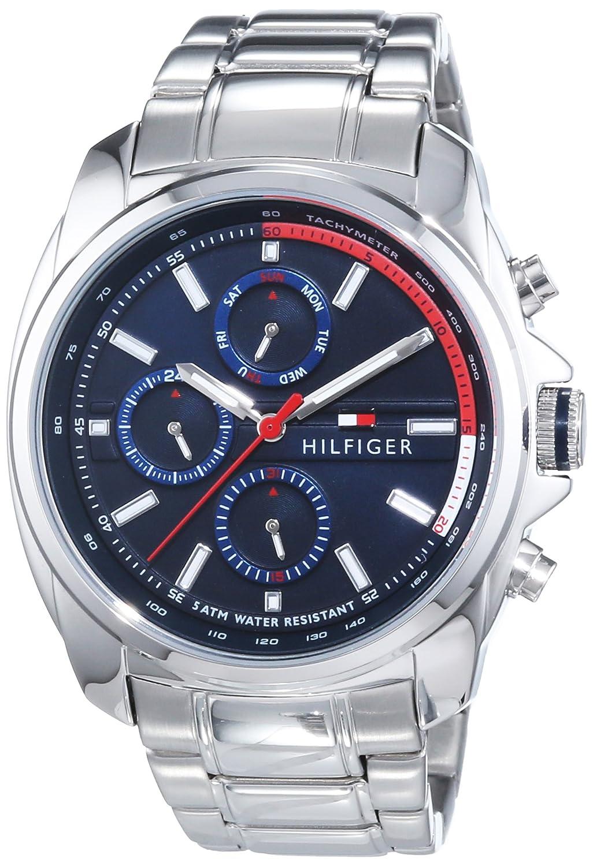 Tommy Hilfiger Watches PRESTON Reloj Analógico de Cuarzo para Hombre correa de
