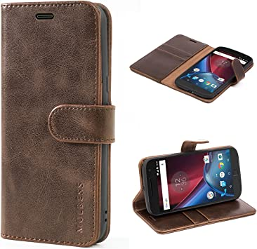 Mulbess Funda para Motorola Moto G4 Plus, Funda Cartera Moto G4 ...