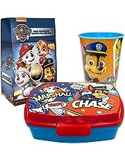 JT Kompatibel zu Paw Patrol - Süßes Geschenkset mit Brotdose und Becher - Originalartikel von Paw Patrol zu einem Set kombiniert von JuniorToys