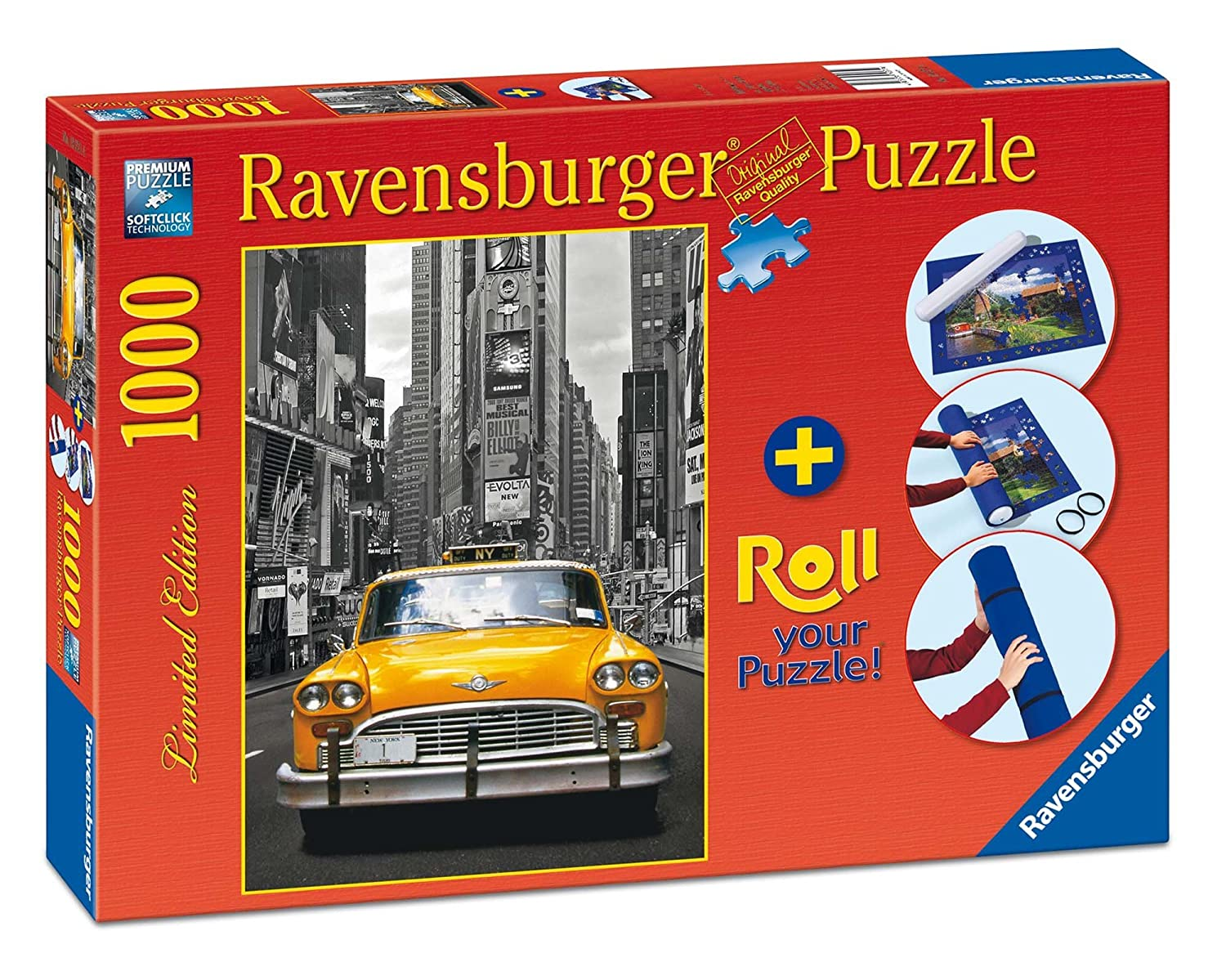 Ravensburger 19907 New York Taxi 1000 Teile Puzzle Roll