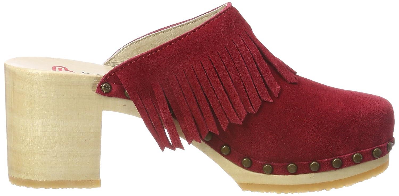 Rosso Donna B07d9lrwth Cloé rot Zoccoli Berkemann WgIwS0q8q