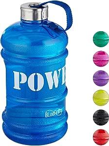 Bluefinity Botella de Agua Power para Deporte, Cantimplora XXL ...
