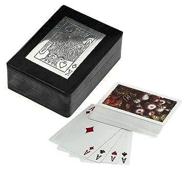 Caja de juego de cartas de madera para almacenamiento ...
