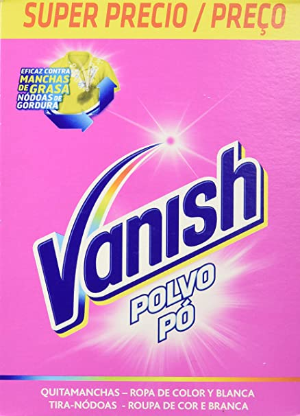 Vanish Quitamanchas para Ropa Polvo Regular - 600 gr