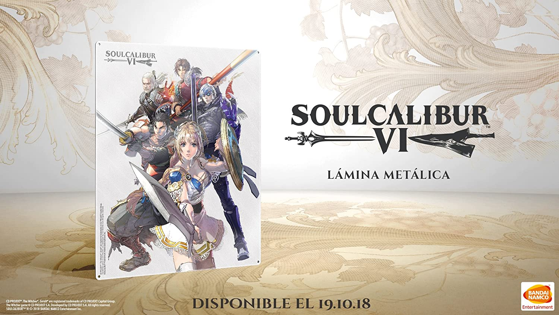 Metal Plate SoulCalibur VI Preorder: Amazon.es: Videojuegos
