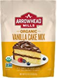 Arrowhead Mills Organic Vanilla Cake Mix, 18.2 oz. (Pack of 6)