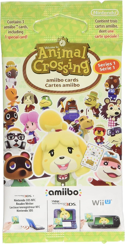 Nintendo - Pack de 3 tarjetas Amiibo Animal Crossing - Serie 1 (Nintendo 3DS): Amazon.es: Videojuegos