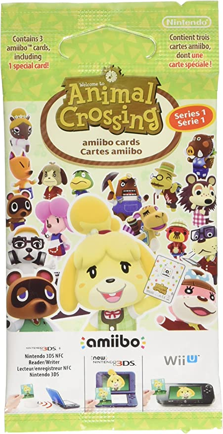Nintendo - Pack de 3 tarjetas Amiibo Animal Crossing - Serie 1 ...