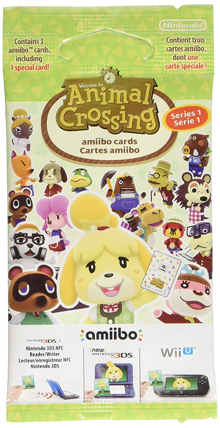 Nintendo - Pack de 3 tarjetas Amiibo Animal Crossing - Serie 1 ...