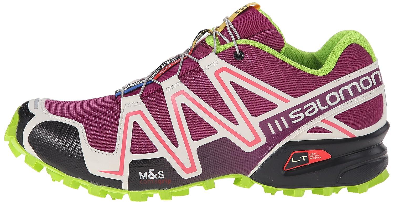 SalomonSpeedcross 3 - Zapatillas de running mujer, Violeta, 36: Amazon.es: Deportes y aire libre