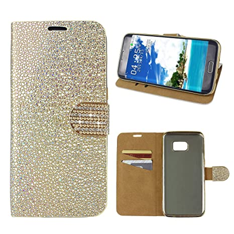 custodia samsung s7 edge con brillantini
