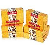 Vaadi Herbals Divine Sandal Soap with Saffron and Turmeric, 75g x 6