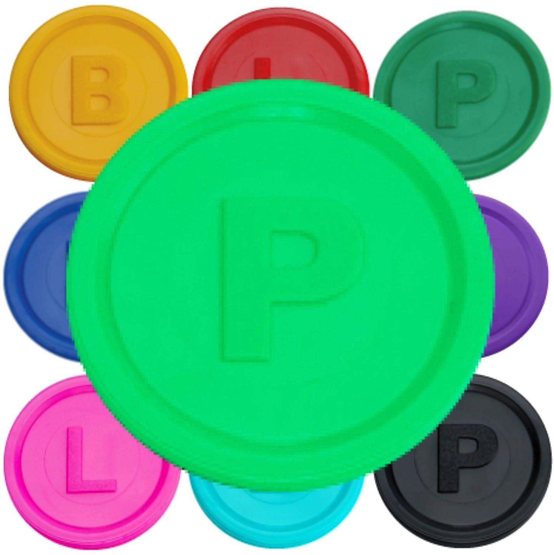 B- en 14 Colores Diferentes P SchwabMarken Marcadores Fichas con o L