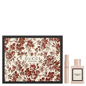 e275489b7 Gucci Bloom Eau De Parfum 50ml & EDP 7.5ml Rollerball Gift Set For Her