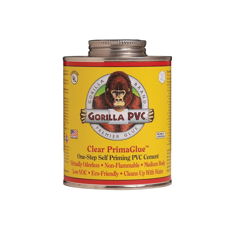 Amazon Gorilla Clear PVC PrimaGlue 4oz Home Improvement