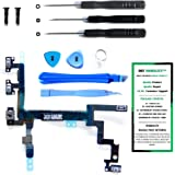 iPhone 5 Power Button, Proximity Light Sensor, and Microphone Flex Cable Replacement Kit with DM Tools and Instructions Included - DIYMOBILITY