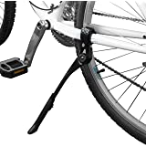 "BV Bike Kickstand - Alloy Adjustable Height Rear Side Bicycle Stand, for Bike 24"" - 28"""